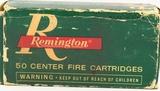 50 Rounds Of Remington .38 S&W Ammunition
