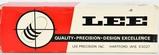 Lee Precision Bullet Mould Block & Handles For