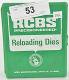 3 RCBS Reloading Dies For .38 Special