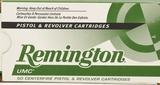 50 Rounds Remington UMC .38 SPL Ammunition