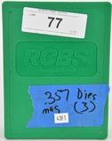 RCBS Reloading Die Set For .357 Magnum