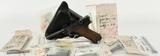 DWM 1921 Dated P08 Luger Semi Auto Pistol