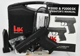 Brand New Heckler & Koch P2000 SK V3 Subcompact