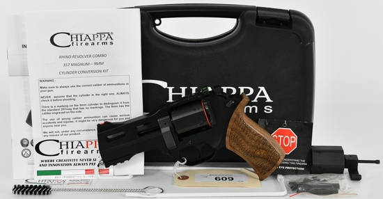 Chiappa Rhino 40DS Revolver .357 Mag / 9mm