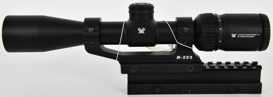 CrossFire II 2-7x32 Scout Riflescope w/rings &