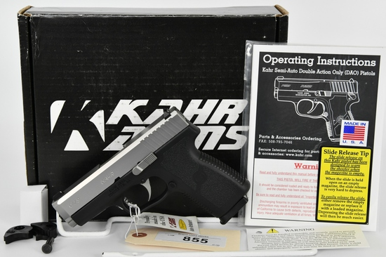 Kahr Arms CW9 Semi Auto Pistol 9mm