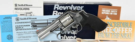 Smith & Wesson Model 686-4 .357 Satin Stainless
