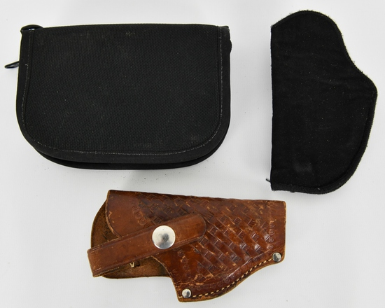 Lot of 3 Various Small Frame Holsters