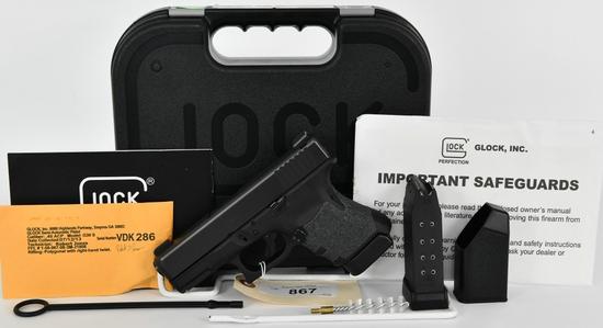 GLOCK 30S Gen 3 Semi Auto Pistol .45 ACP