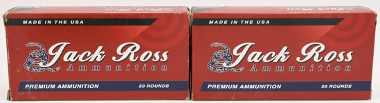 100 Rounds Of Jack Ross .45 ACP Ammunition