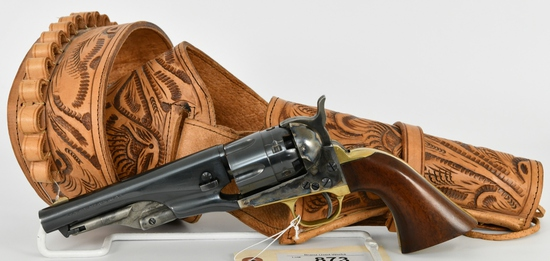 Pietta 1860 Army Sheriff Black Powder Revolver .44