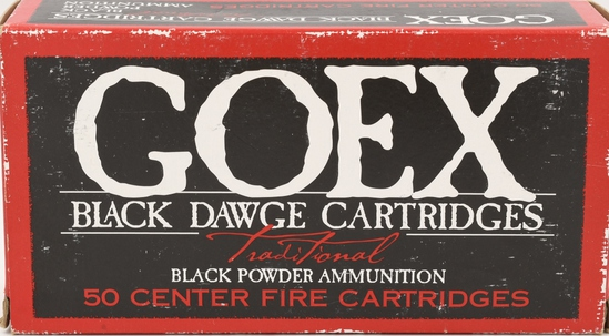 47 Rounds Of Goex .44-40 Black Powder Ammunition