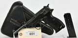 Walther P38 Semi Auto Pistol AC40 Luftwaffe Mark