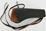 Unmarked Right Handed Leather Holster