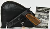Belgium Browning Hi-Power Semi Auto Pistol 9MM