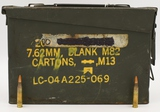 382 Rounds Of Military 5.56mm Tracer Ammunition