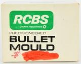 RCBS 7mm Double Cavity Bullet Mould Block