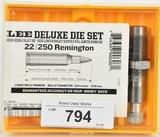 Lee Deluxe Die Set For .22/250 Remington