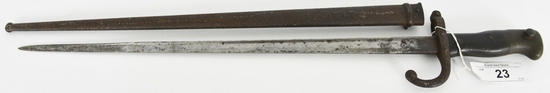 French Bayonet /Scabbard 1879 for The Gras