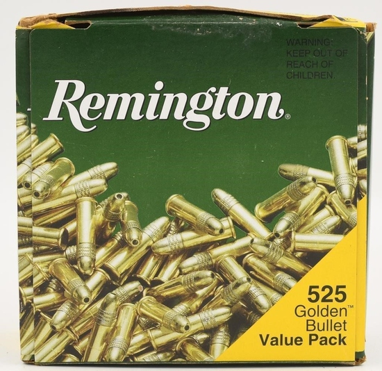 525 Rounds Of Remington .22 LR Golden Bullets Ammo
