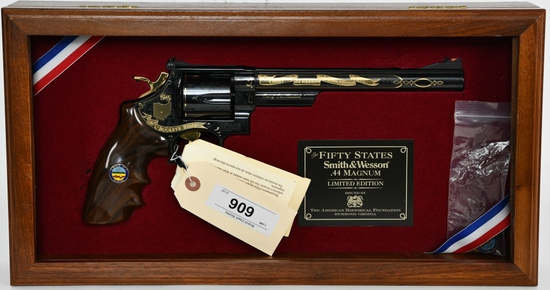 Cased Smith & Wesson Model 29-6 Ohio Limited Edtn
