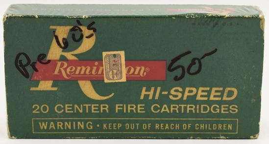 Collectors Box of 20 Rds Remington .45-70 Gov