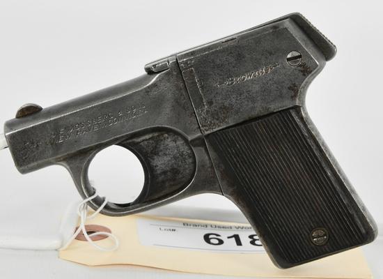 Mossberg Brownie 4 Shot .22 LR Pistol