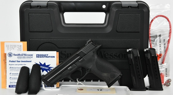 Smith & Wesson M&P 9 Full Size Stainless 9MM