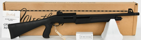 Brand New Weatherby PA-459 Home Defense Pump