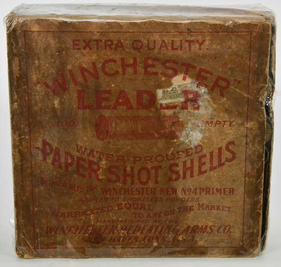 Rare Collectors Box Of 92 Rds Winchester 12 Ga