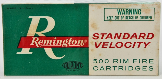 Collectors Box of 500 Rds Remington .22 LR Ammo