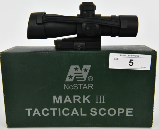 NcStar Mark III Tactical 4x32 Riflescope P4 Sniper