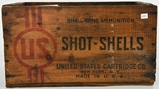 Vintage US Small Arms Ammunition Wood Crate