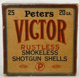 Collectors Box Of 25 Rds Peters Victor 20 Ga