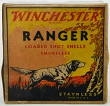 Collectors Box of 25 Rds Winchester Ranger 12 Ga