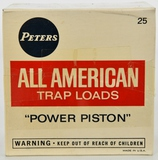Collectors Box Of 25 Rds Peters All American 12 Ga