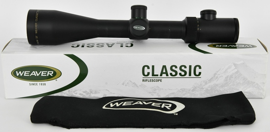 Weaver Classic Extreme Riflescope 4-16X50mm