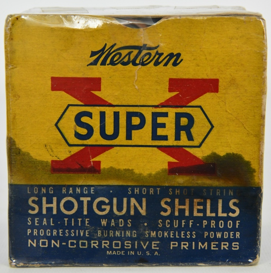 Collectors Box Of 25 Rds Western Super-X 12 Ga