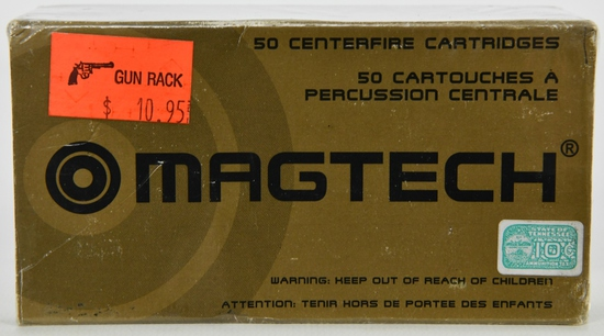 50 Rounds Of Magtech .38 Special Ammunition