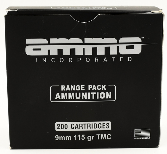 200 Rounds Of 9mm Luger Ammunition