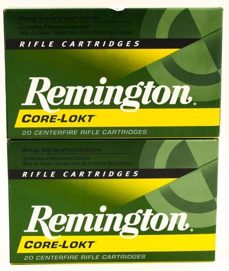 40 Rounds Of Remington .30-06 SPRG Ammunition
