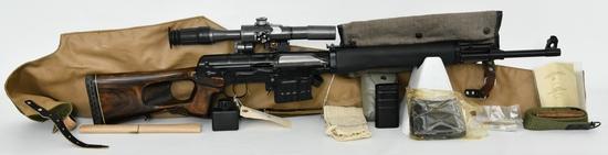 Russian SVD 'Tiger' Semi-Automatic Sniper Rifle