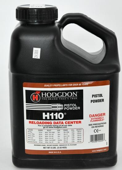 8 LBS Hodgdon H110 Spherical Shotshell & Handgun