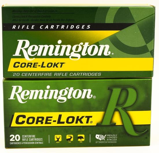 40 Rounds Of Remington .30-30 Win Ammunition