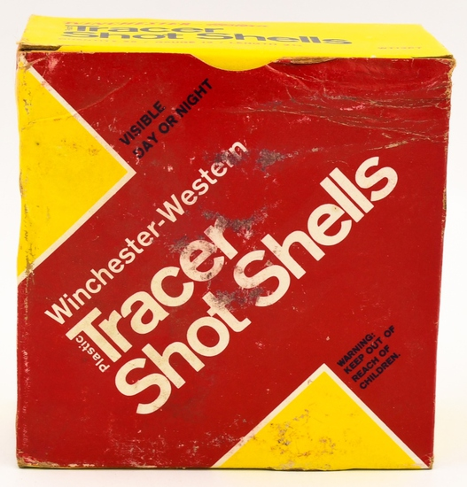Collectors Box Of 25 Rds Winchester Tracer 12 Ga