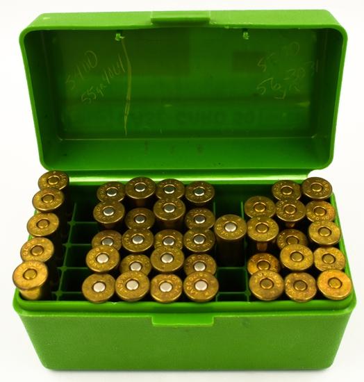 5 Rounds & 35 Empty Brass Casings Of .45-70 GOVT