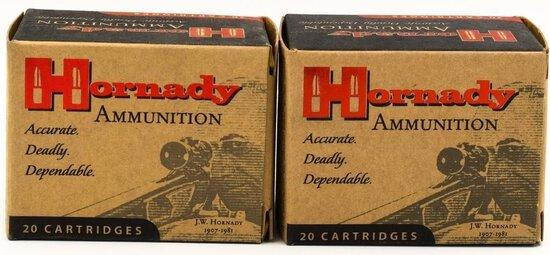 40 Rounds of Hornady .44 Rem Mag Ammunition