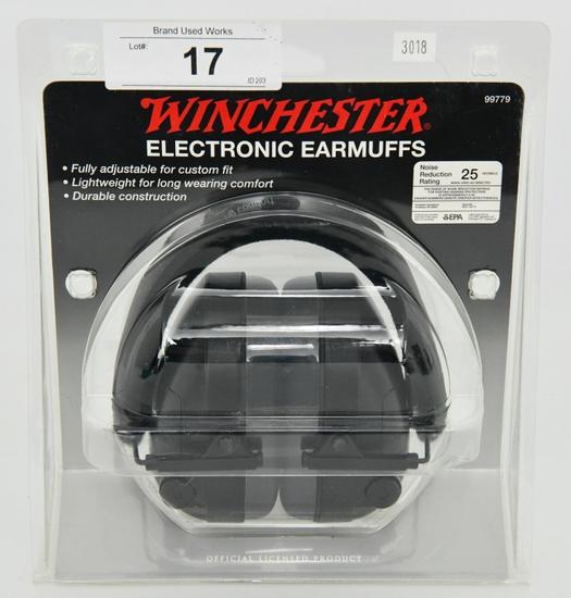 NIP Winchester Electronic Earmuffs