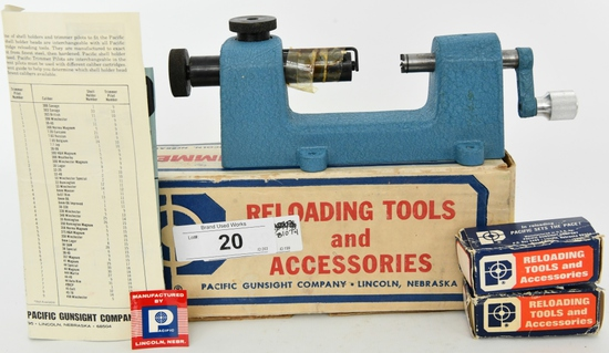 Pacific Deluxe Trimmer for Reloading & Deburring