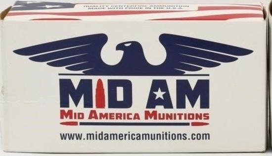 50 Rounds Of MID AM .300 Blackout Ammunition